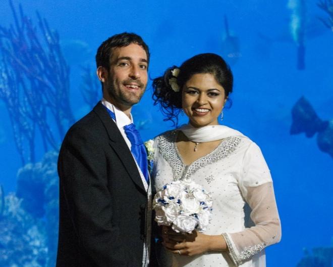 Adrian & Sameera