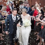 Laura & Stuart's Wedding | The Misfits | confetti