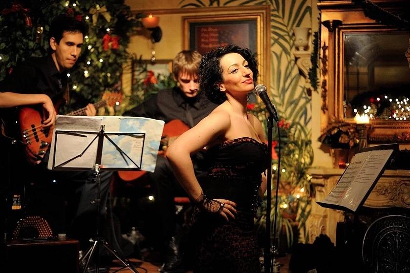 Midnight in paris Jazz duo swing2