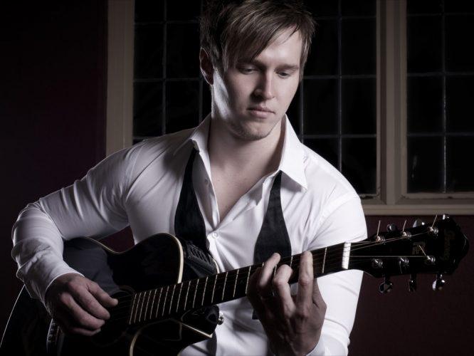 Andrew Guitarist Wedding Edinburgh1