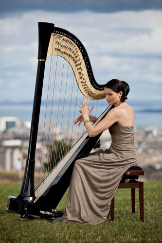 Aura Harpist London Wedding