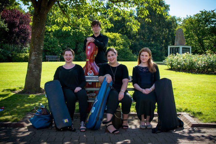 Birdsong Strings Cardiff Wedding Quartet
