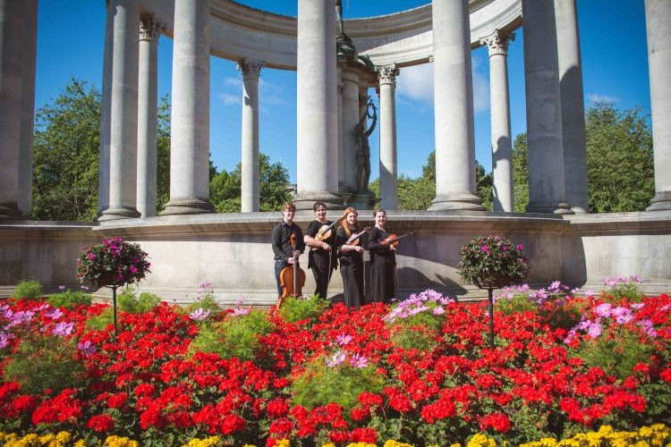 Birdsong Strings Cardiff Wedding Quartet10