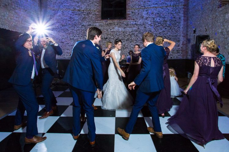 Dan Katie Wedding The Fandangos Dancing