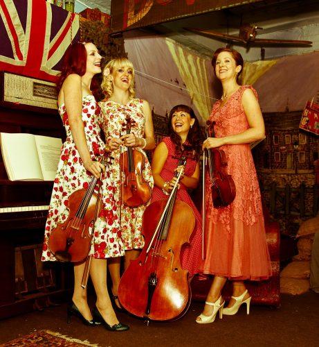 Heyday Vintage String Quartet Lancashire 1