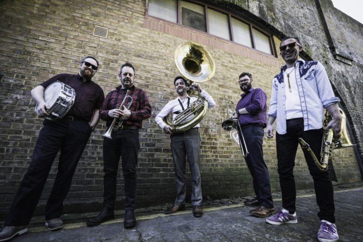 Inglorious Brass Band Brass Wedding Band