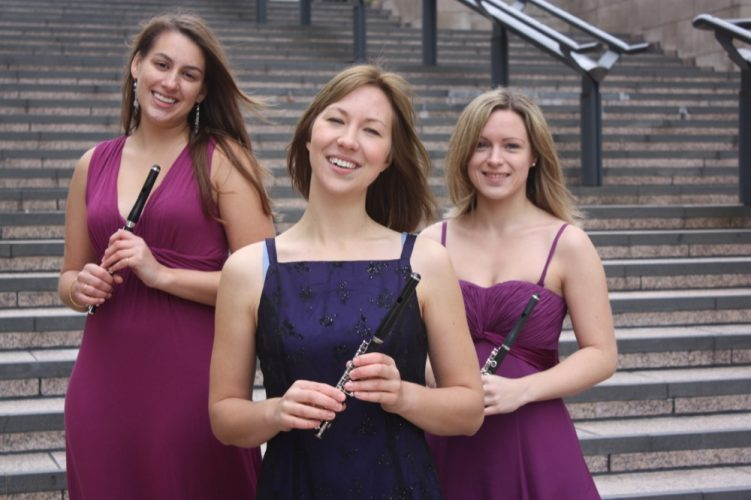 Lucy And Maria  Flute Trio Option