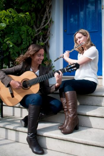 Lucy And Maria Flute Guitar Duo London 1