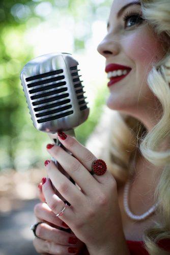 Marie Vintage Wedding Singer London 1