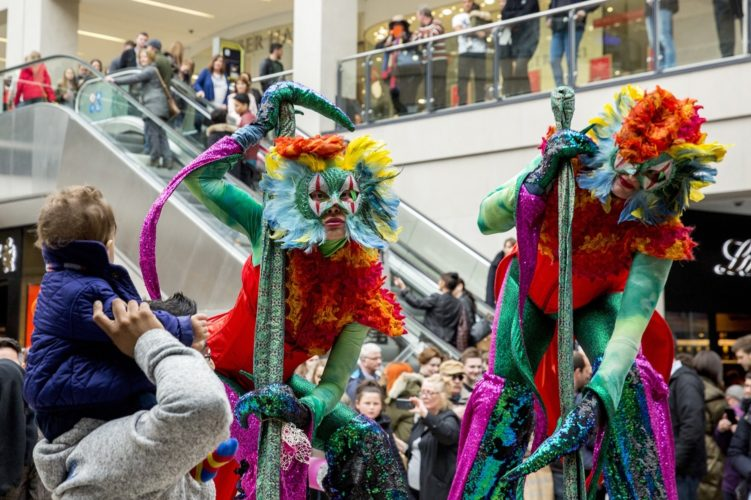 Mythical Madness Stilt Walkers