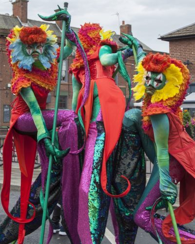 Mythical Madness Stilt Walkers11