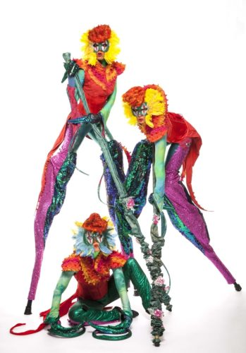 Mythical Madness Stilt Walkers3