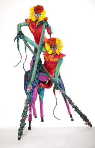 Mythical Madness Stilt Walkers4