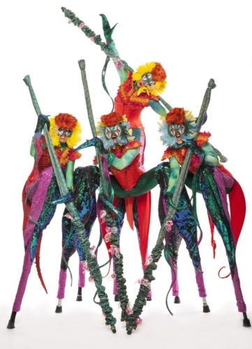 Mythical Madness Stilt Walkers5