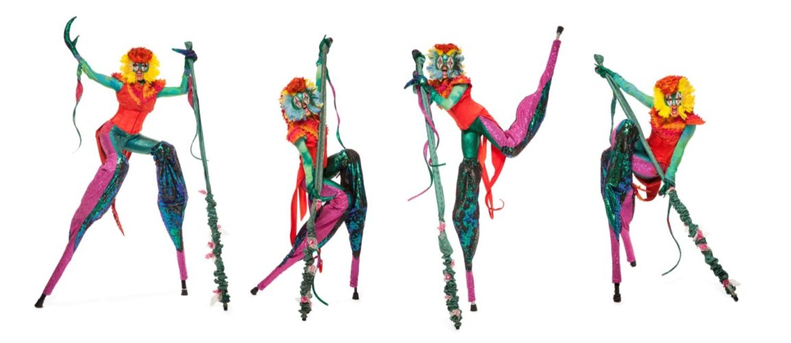 Mythical Madness Stilt Walkers6