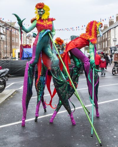Mythical Madness Stilt Walkers9