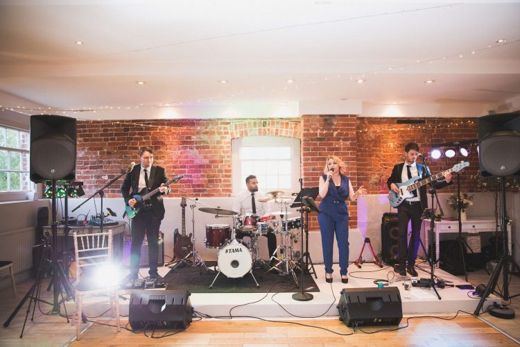 Off The Record 4Piece Wedding Band
