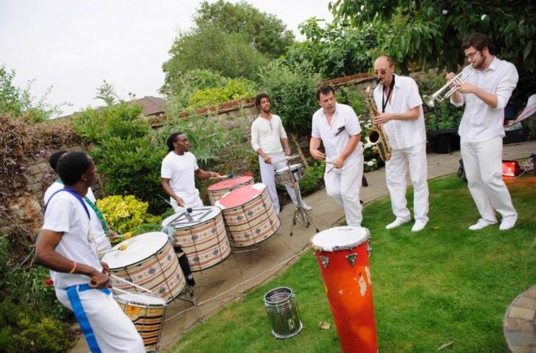 Samba Central Drummers London1