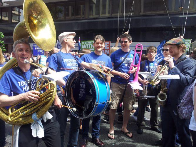 Shrimp Gumbo Brass Band London