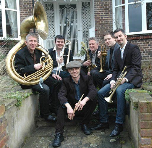 Shrimp Gumbo Brass Band London2