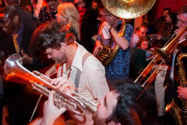 Shrimp Gumbo Brass Band London4