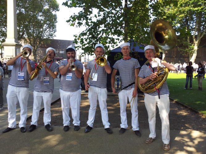 Shrimp Gumbo Brass Band London5