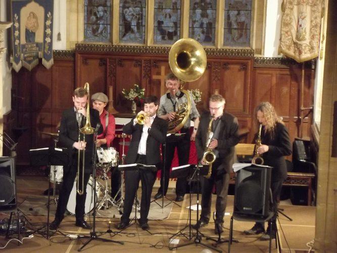 Shrimp Gumbo Brass Band London6