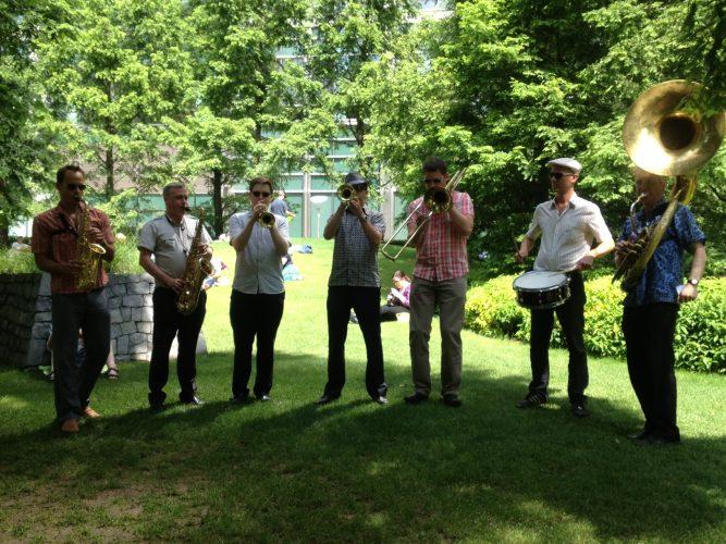Shrimp Gumbo Brass Band London7