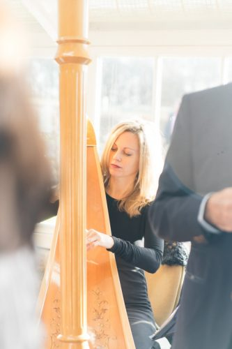Siobhan Harpist Wedding London