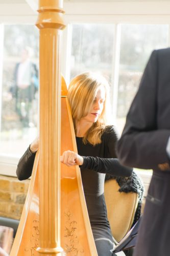 Siobhan Harpist Wedding London1