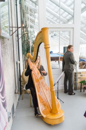 Siobhan Harpist Wedding London3
