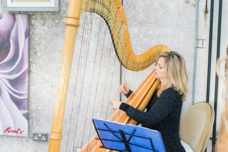 Siobhan Harpist Wedding London4