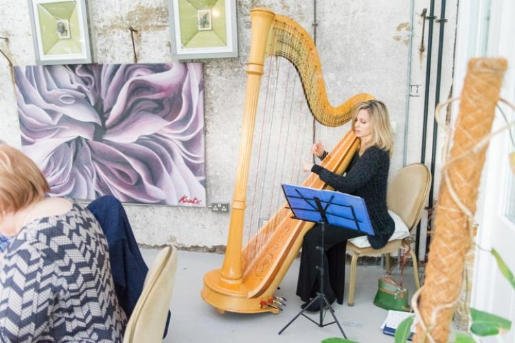 Siobhan Harpist Wedding London5
