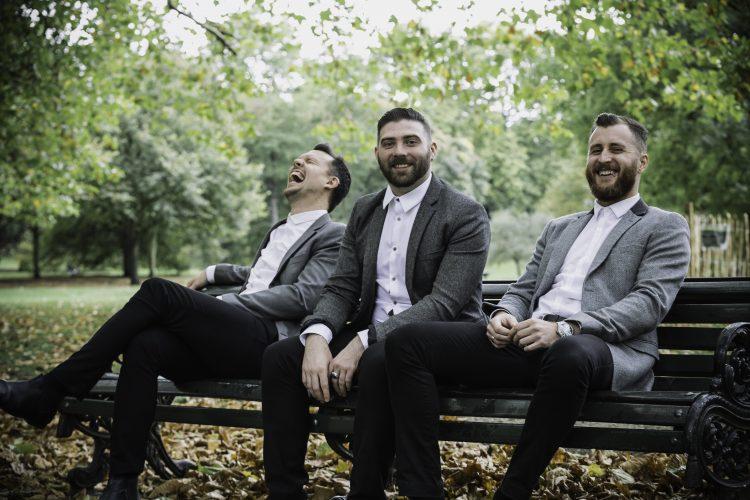 Stereogram Lond Wedding Band