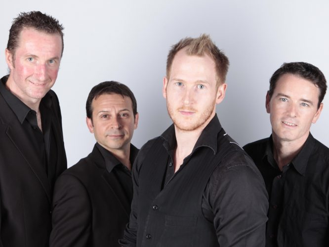 The High Noons Wedding Band Male 4 Piece 2