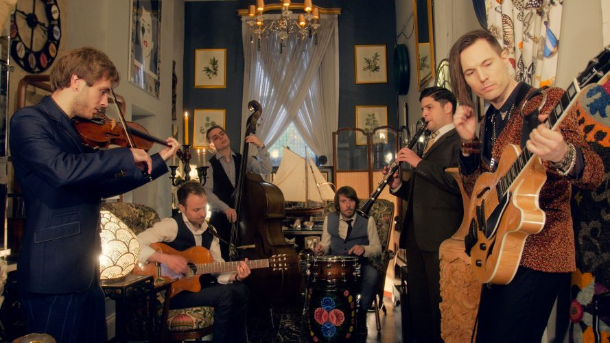 The Hot Club Collective Gypsy Swing Band2