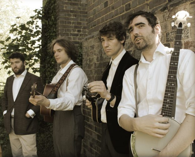 The Jumping Tommys Bluegrass Band London 1
