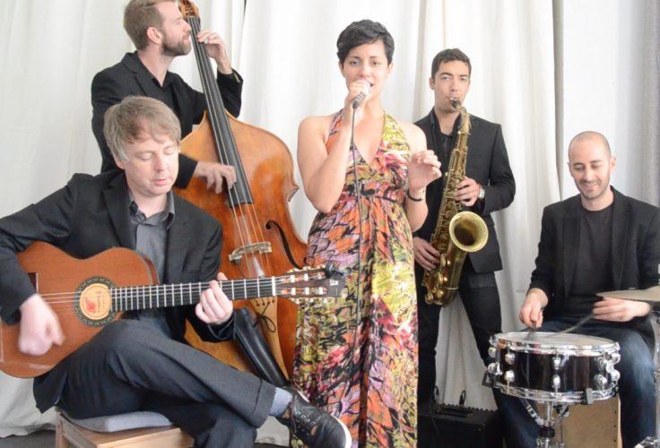 The Lilacs Wedding Jazz Band London Main