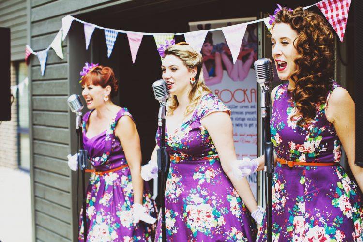 The Rockettes Close Harmony Group
