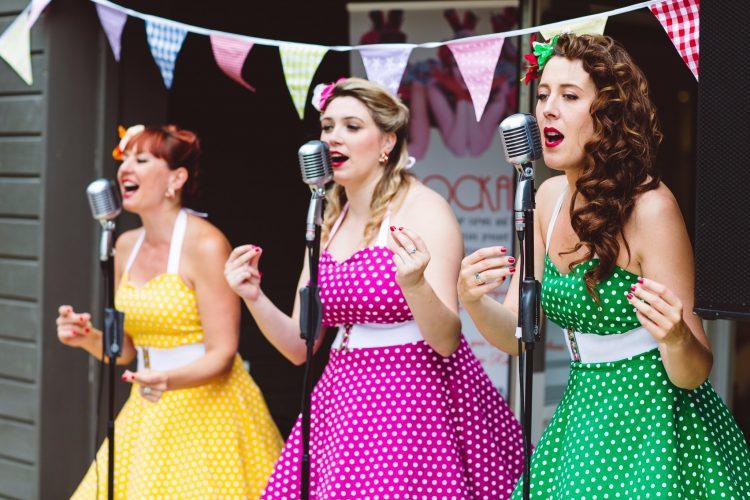 The Rockettes Vintage Band10 1