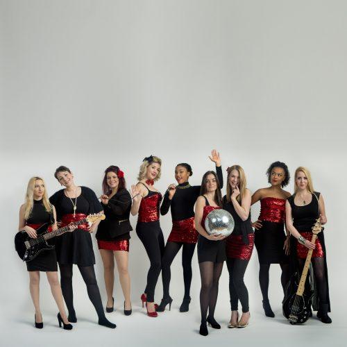 The Soul Girls Band London1