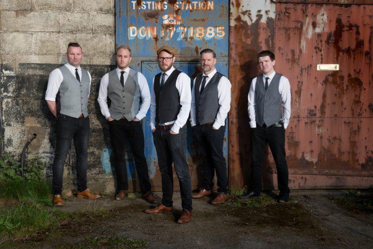 The Stings Wedding Band4
