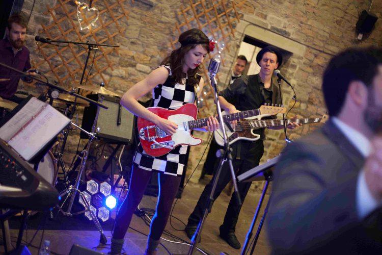 The Sweet  Lowdown Wedding Band Brighton 4