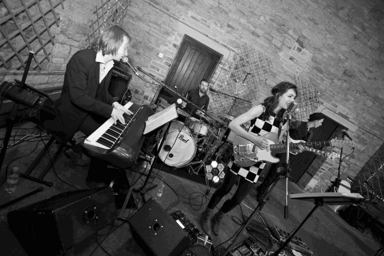 The Sweet  Lowdown Wedding Band Brighton 8