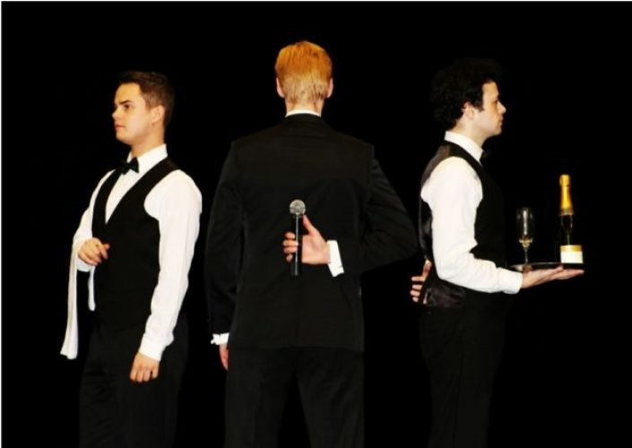 The Tenors Singing Waiters Function Act 1
