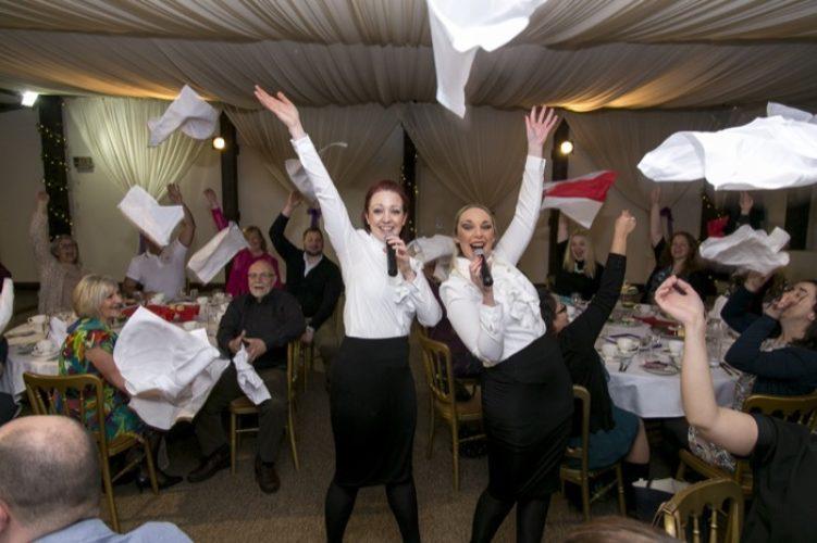 West End Waitresses Singing Waiters