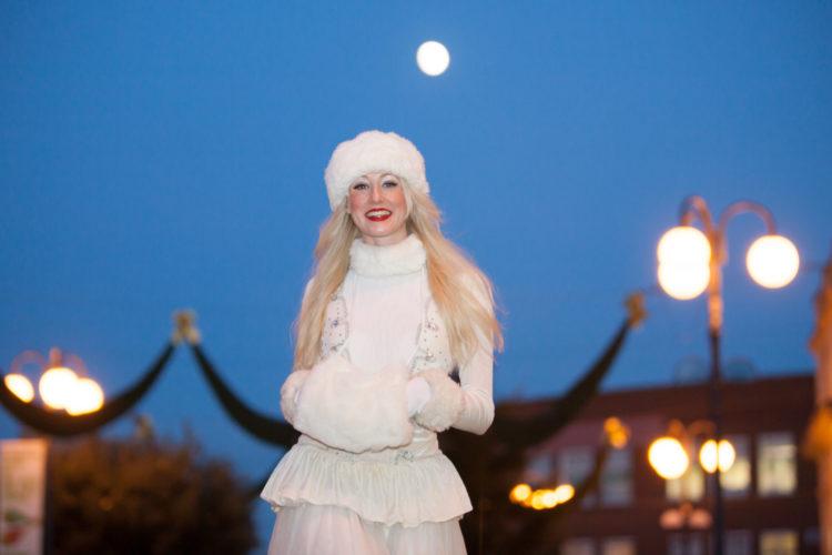 Winter Stilt Walkers London