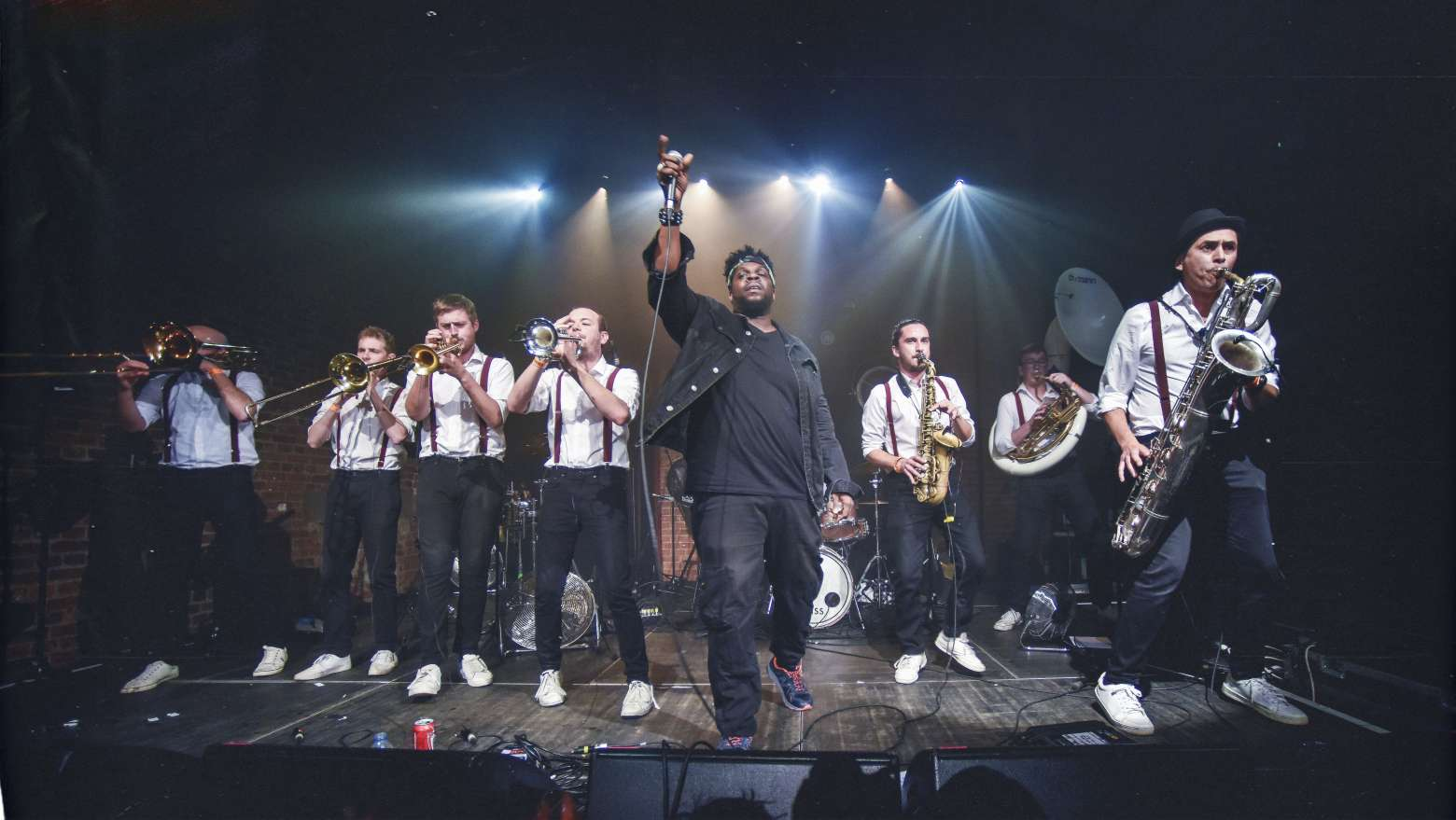 The DBs | Modern Brass & Drums Band For Hire