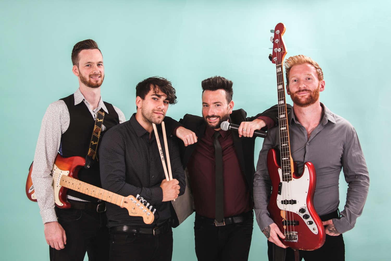 The Hustlers Brighton Wedding band