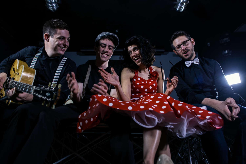 Boho Hustle Vintage Pop Wedding Band Main